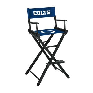 Indianapolis Colts Bar Height Directors Chair