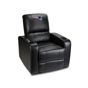 New England Patriots Power Theater Recliner With USB Port