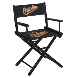 Baltimore Orioles Table Height Directors Chair