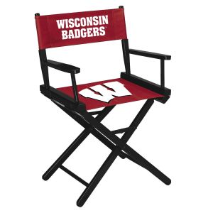 University of Wisconsin Table Height Directors Chair