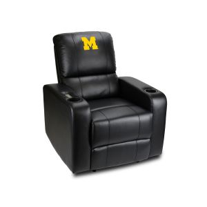University Of Michigan Power Theater Recliner With USB Port