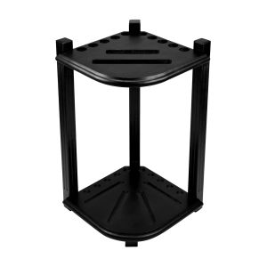 Imperial Double Thick Corner Cue Rack, Black