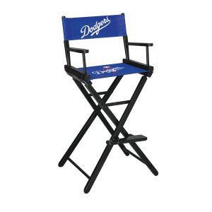 Los Angeles Dodgers Bar Height Directors Chair