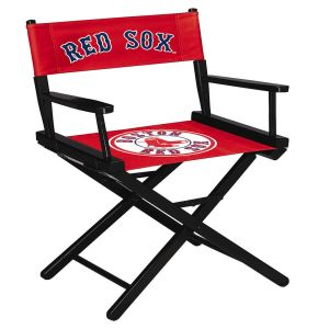 Boston Red Sox Table Height Directors Chair