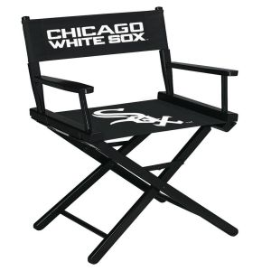 Chicago White Sox Table Height Directors Chair