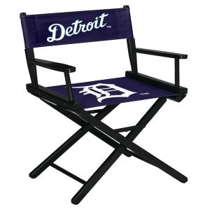 Detroit Tigers Table Height Directors Chair
