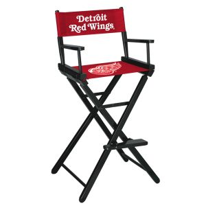 Detroit Red Wings® Bar Height Directors Chair