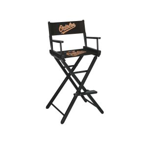 Baltimore Orioles Bar Height Directors Chair