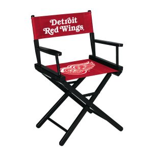 Detroit Red Wings Table Height Directors Chair